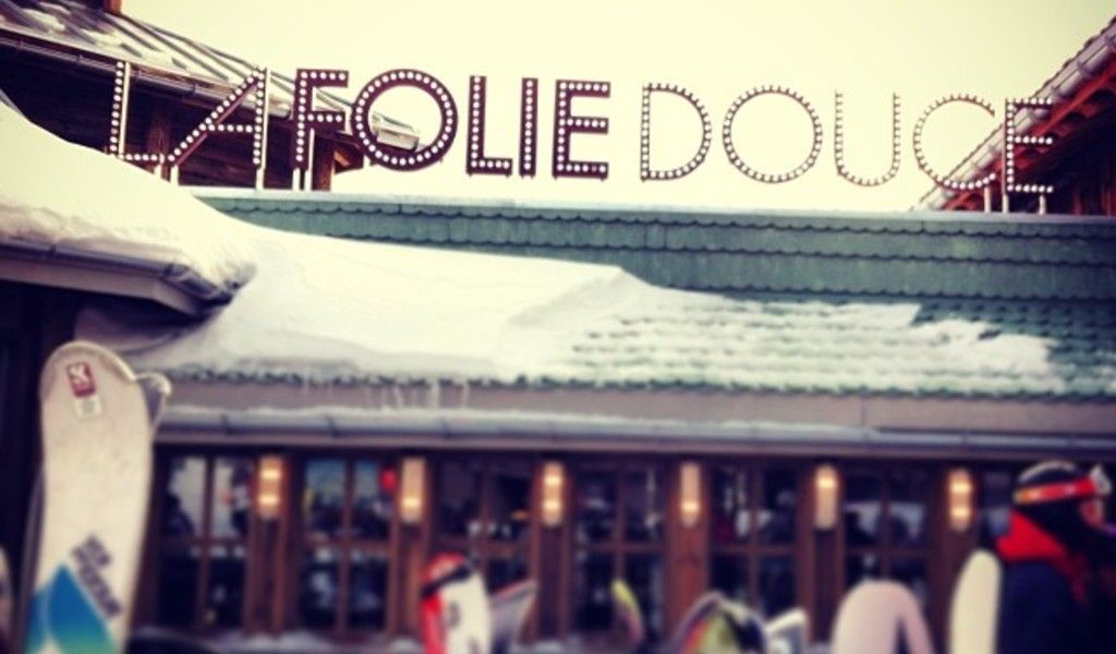 Folie Douce entrance